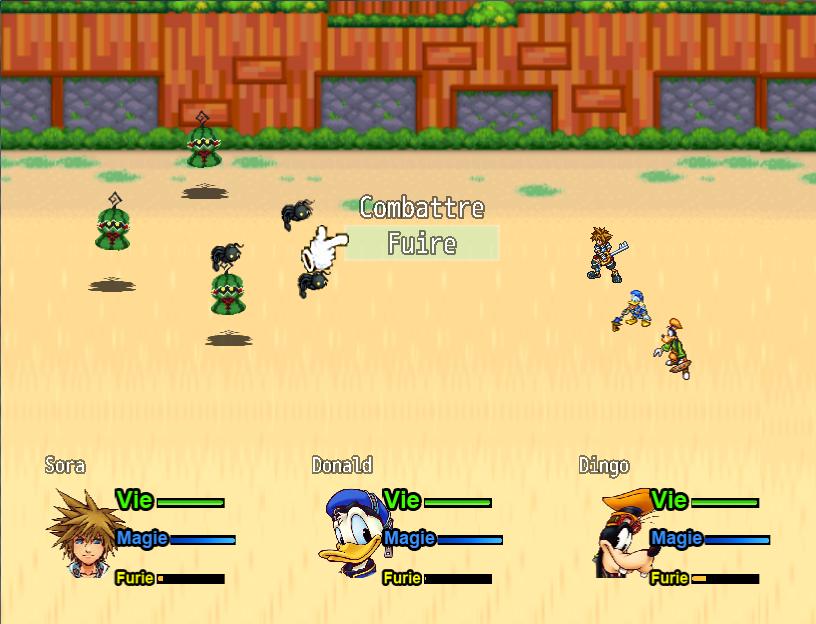 Kingdom Hearts ( RPG MAKER MV - ANDROID ) Images du jeu
